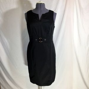 AGB | black sheath dress, perfect for the office